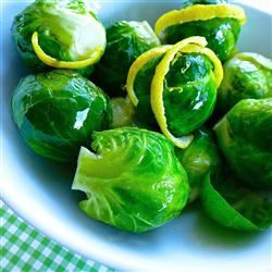 Honey Dijon Brussels Sprouts Stacy