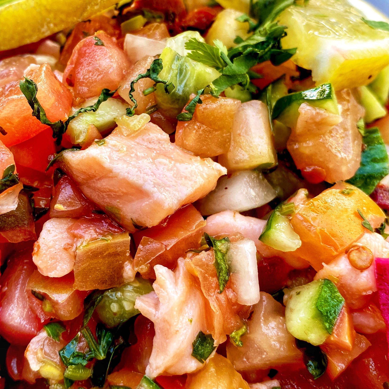 Salmon Ceviche image