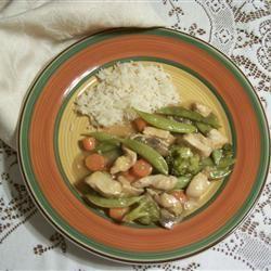 Orange Chicken Stir-Fry TABASB