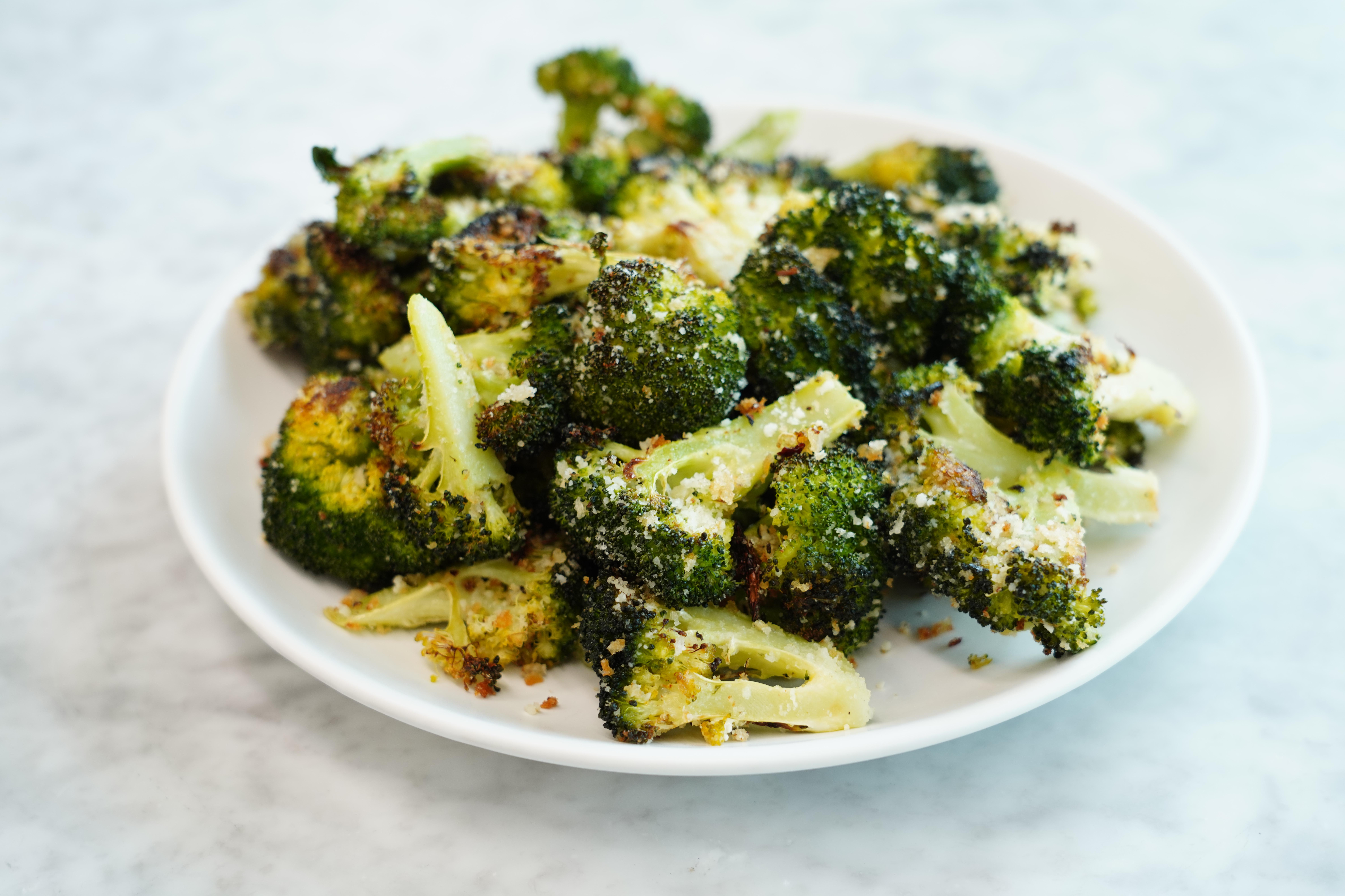 Panko-Parmesan Roasted Broccoli image