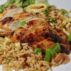Grilled Asian Chicken Janet M.