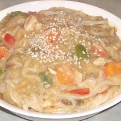 Thai Noodles Chicken