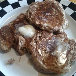 Whole Wheat Apple Pancakes with Brown Sugar Glaze Jeannie Jyurovat