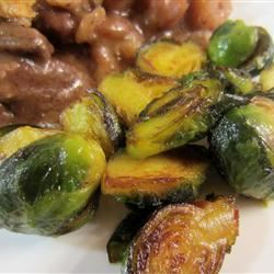 Brussels Sprouts With Browned Butter pelicangal