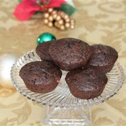 Cappuccino Muffins with Chocolate and Cranberries
