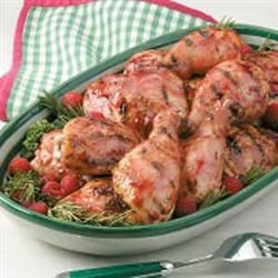Grilled Raspberry Chicken Natasha7