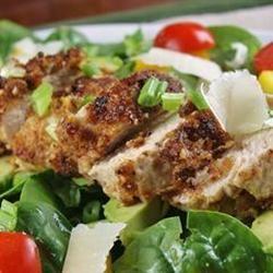 Spinach Salad with Pistachio Chicken naples34102