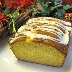 Eggnog Loaf Cake Mary E. Crain