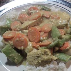 Coconut Chicken Stir Fry Valerie Weiler-Hinch