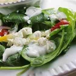 Spinach Ranch Salad naples34102