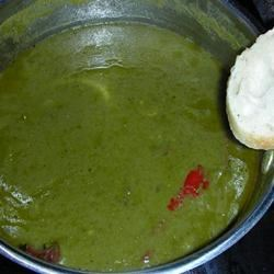 Spinach and Buttermilk Soup Talking Head