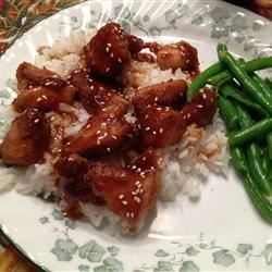Addictive Sesame Chicken raspberrylove3