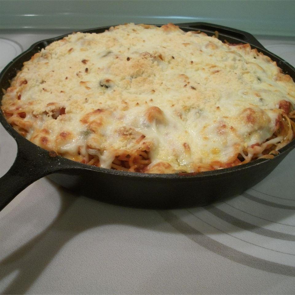 Timballo Spaghetti Casserole Tom Wyant