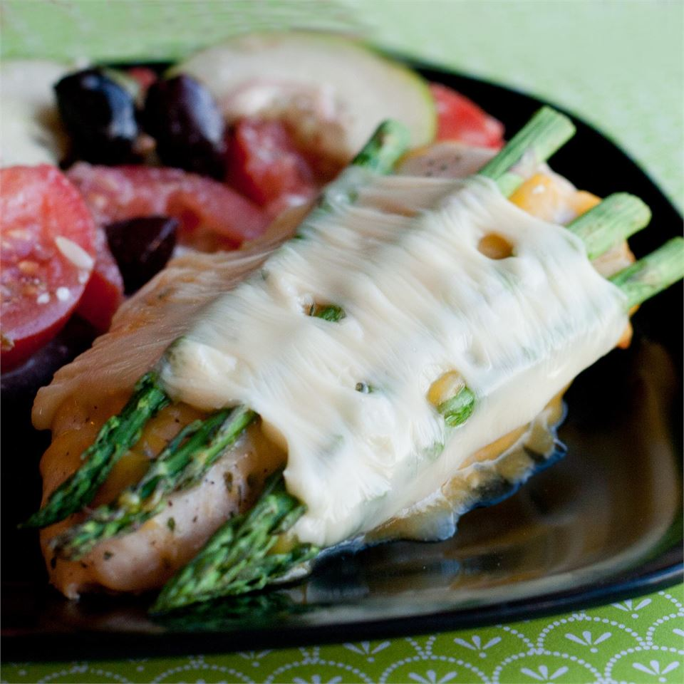Cheesy Asparagus Chicken France C