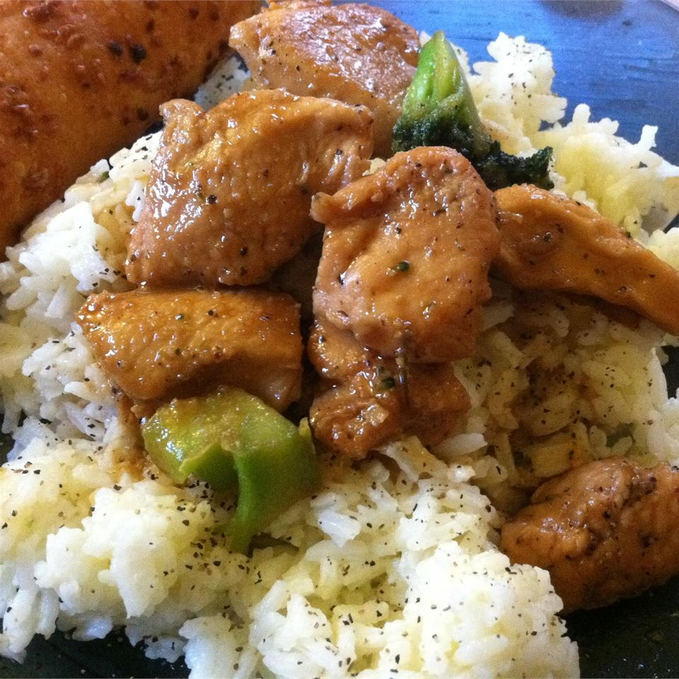 Sweet, Sticky and Spicy Chicken stefani