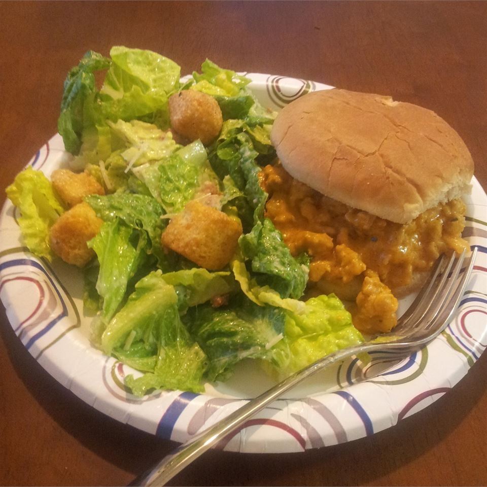 Buffalo Chicken Sloppy Joes Jason Ponticelli