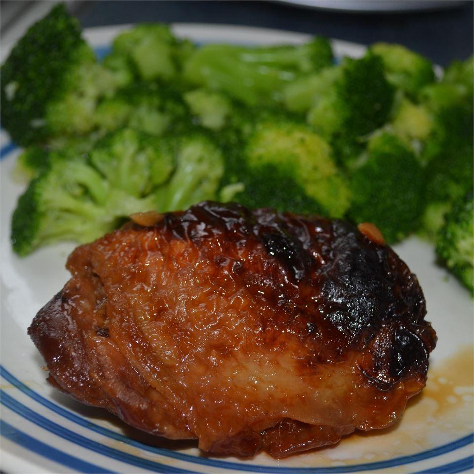 Candied Garlic Chicken Wings