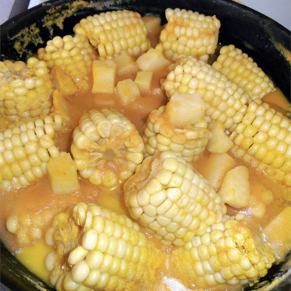 Ajiaco (Chicken, Sweet Corn, and Potato Soup) maria joesaar