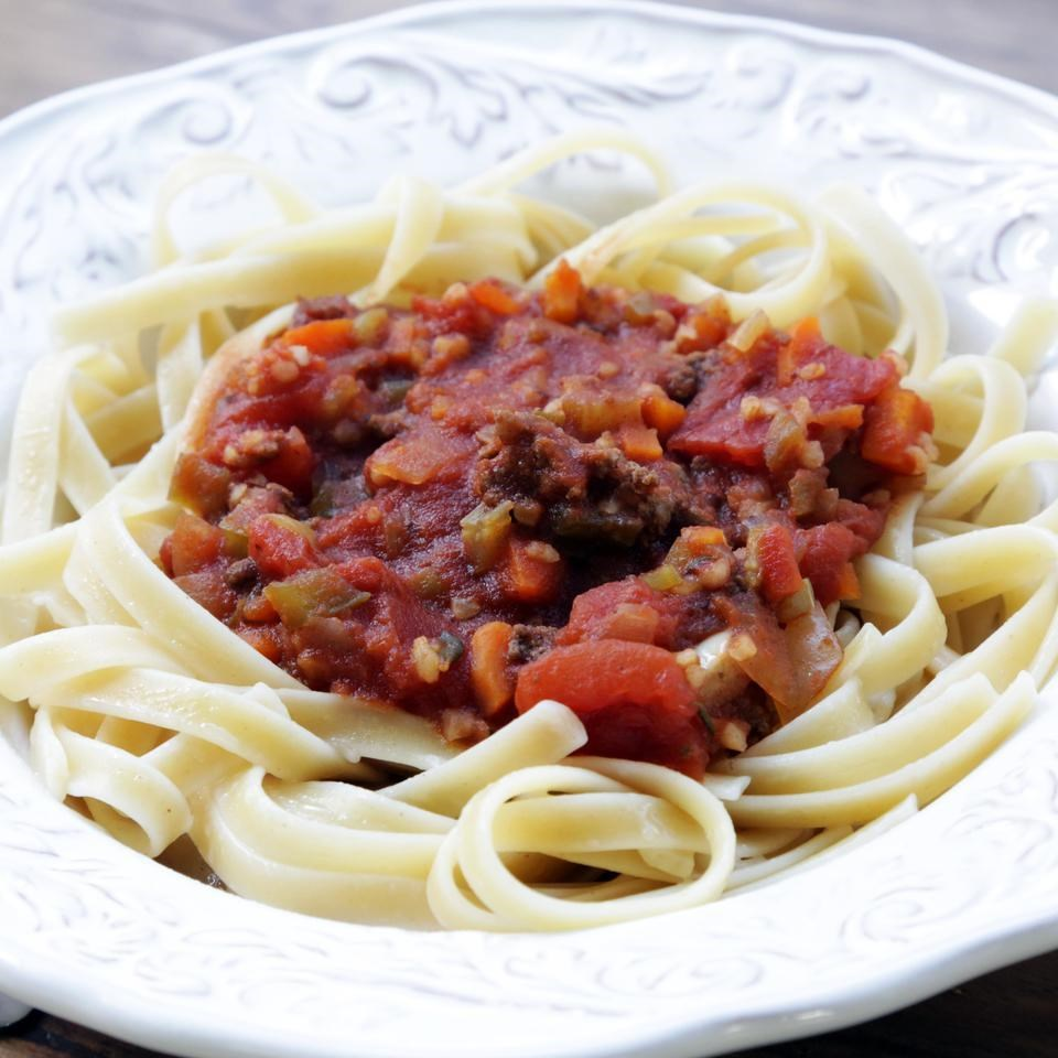 Indispensable Meat Sauce for Pasta Recipe - EatingWell