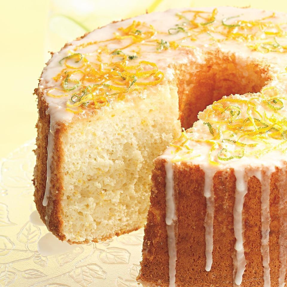 Sunny Citrus Chiffon Cake