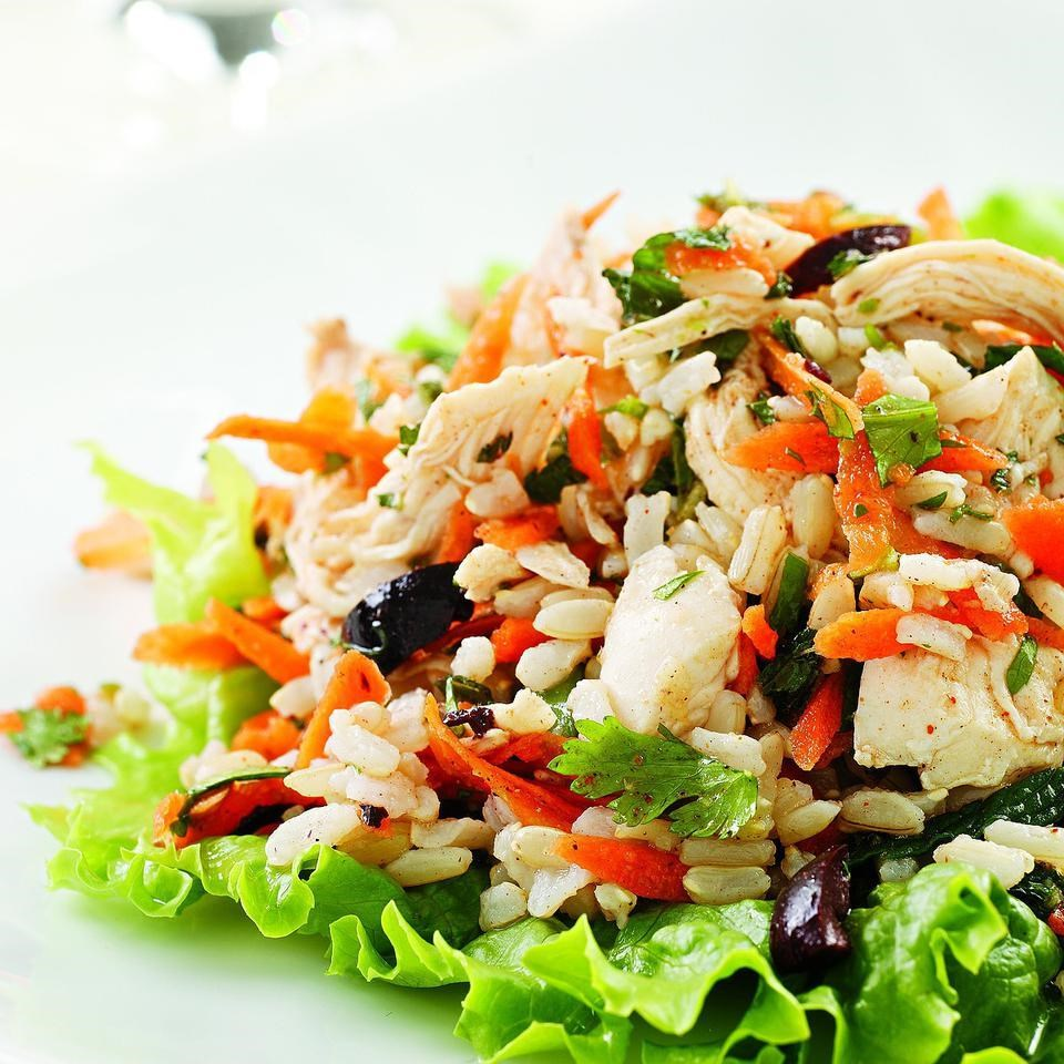 moroccan chicken salad recipe   eatingwell