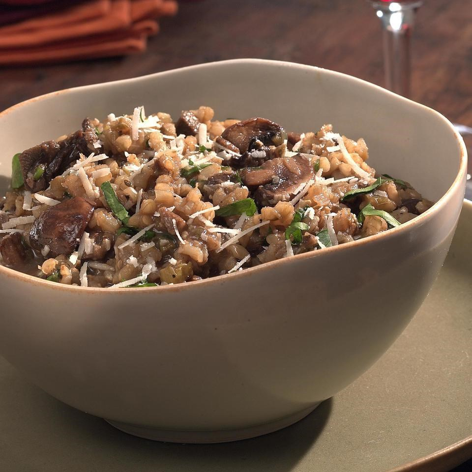 Mushroom Risotto Recipe Eatingwell