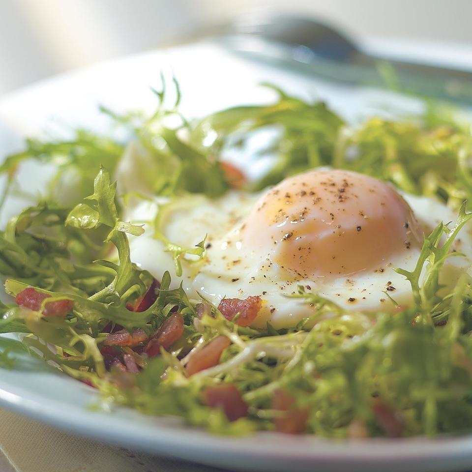 Light Salade aux Lardons