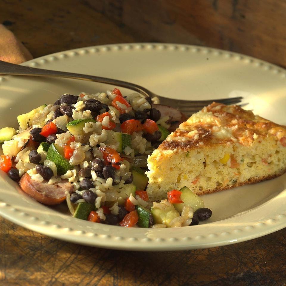 Vegetable & Sausage Skillet Supper
