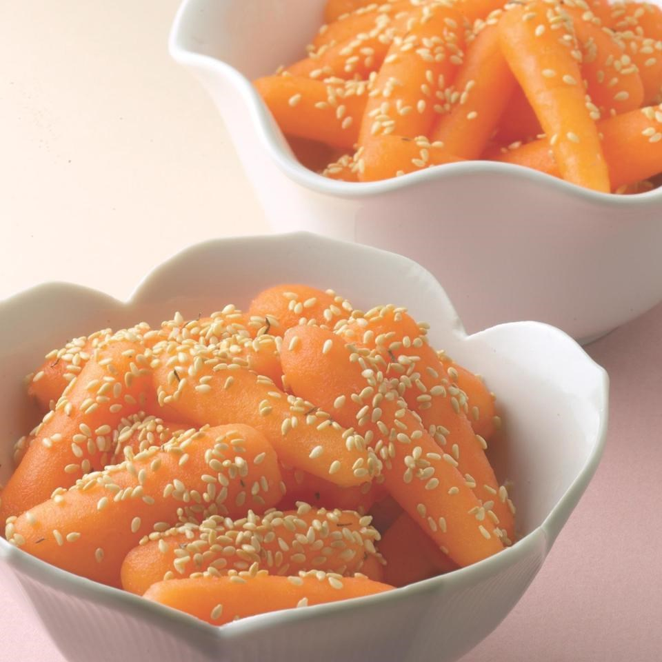 Sesame Carrots