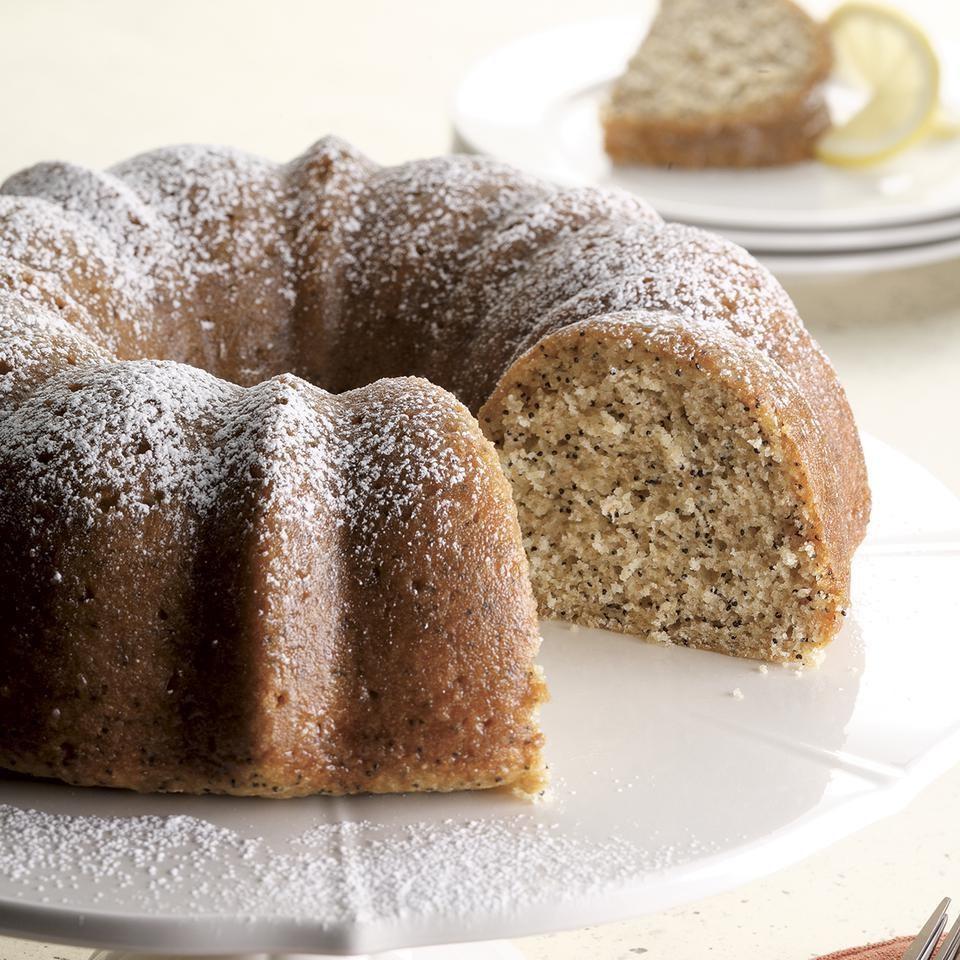 Best Vegan Lemon Poppy Seed Cake