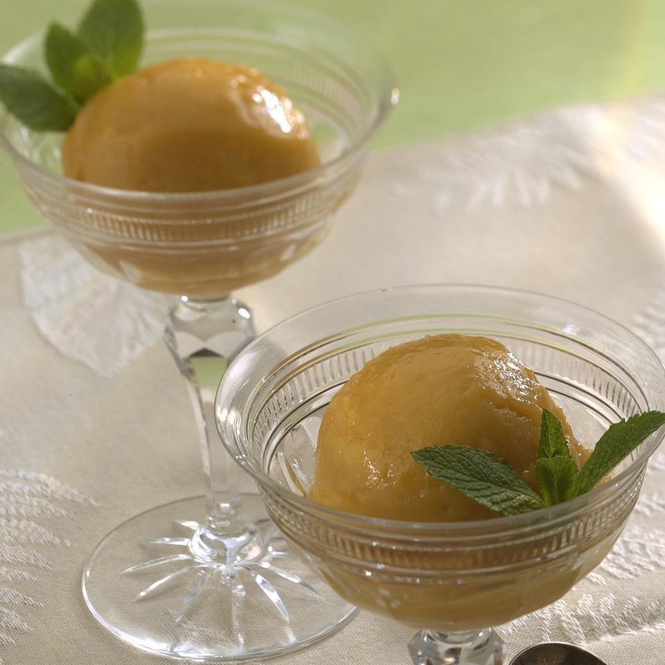 Roasted Mango Sorbet