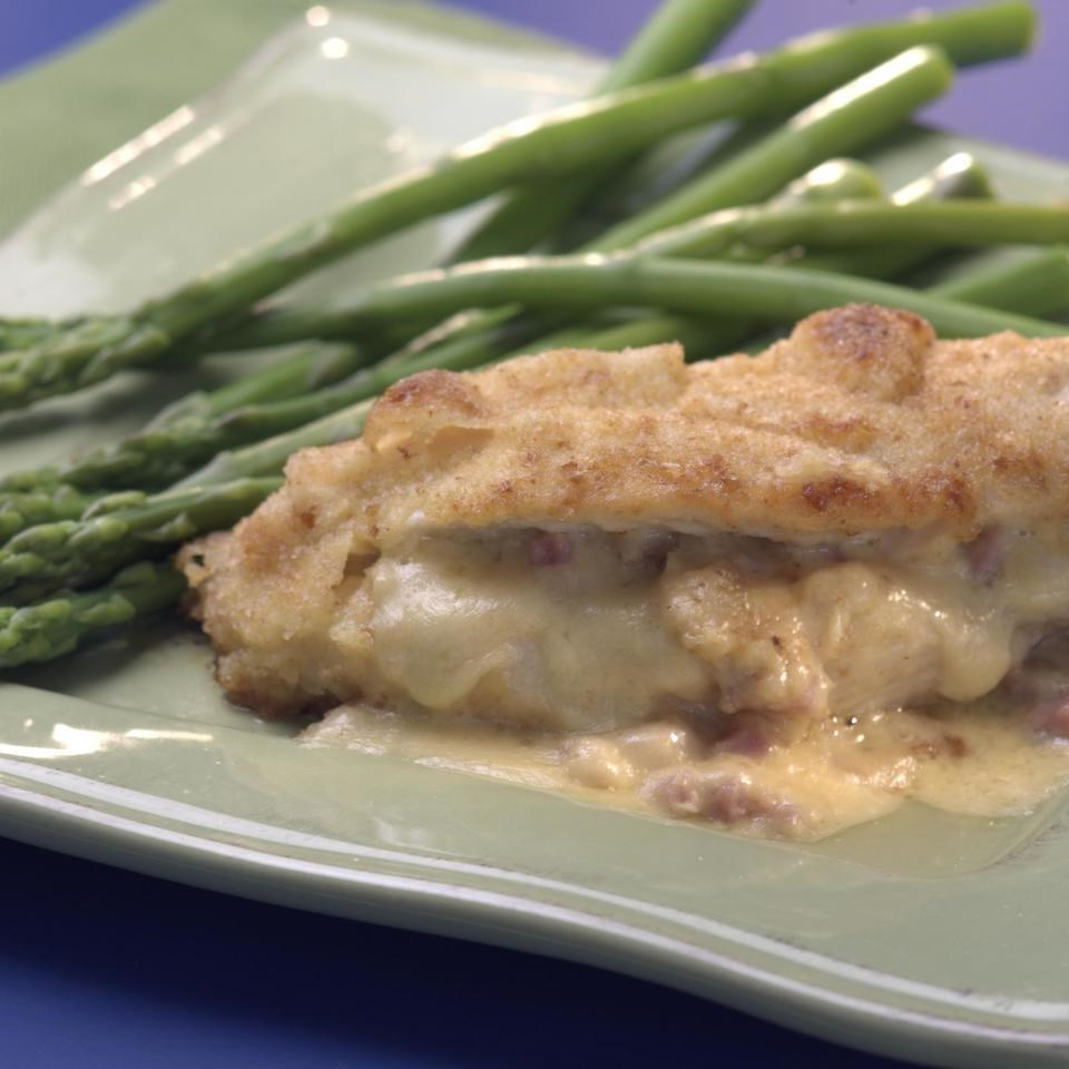 Ham-&-Cheese-Stuffed Chicken Breasts Recipe - EatingWell
