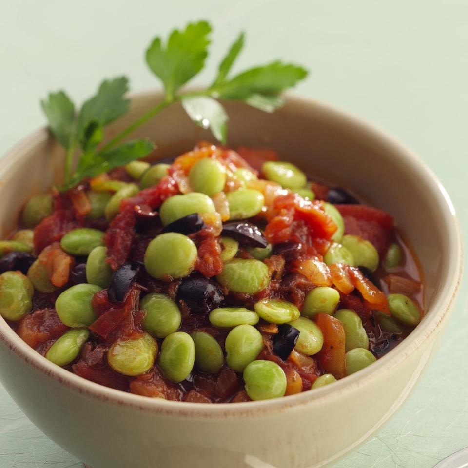 Mediterranean lima beans recipe eatingwell for How to cook fresh lima beans from garden