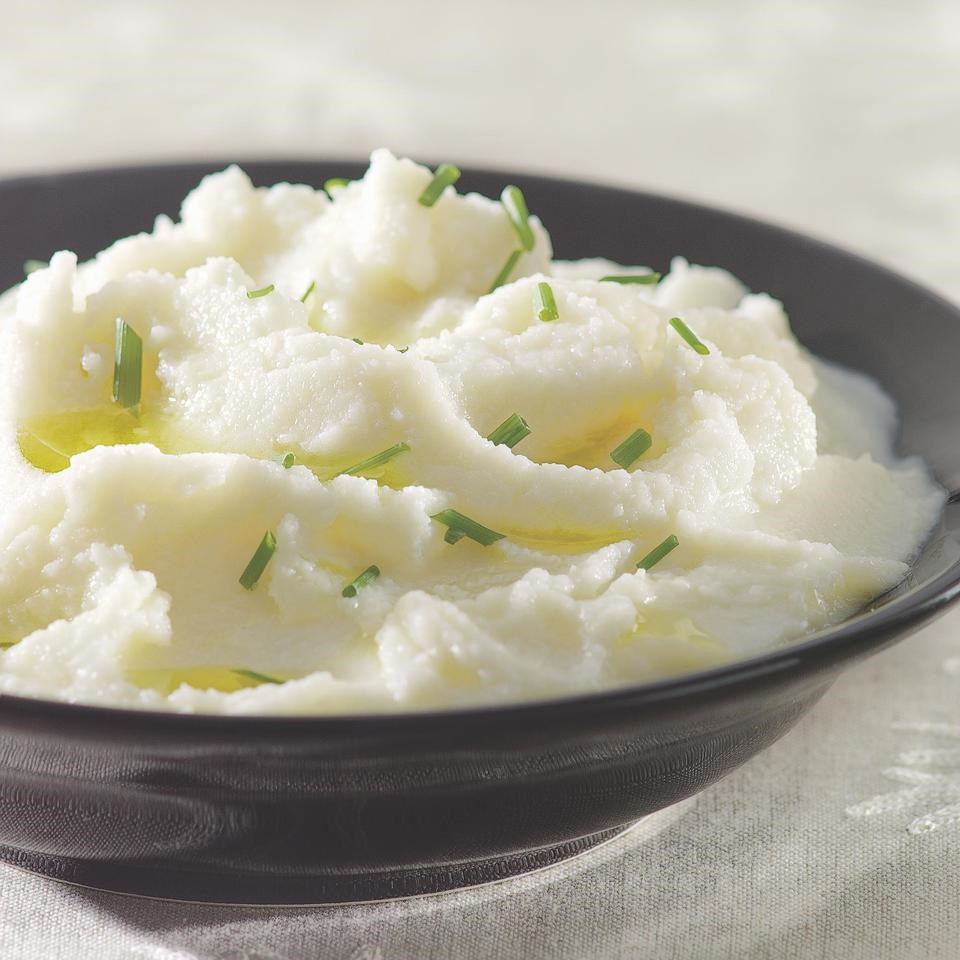 Recipes for weight loss diet eatingwell creamy mashed cauliflower forumfinder Image collections