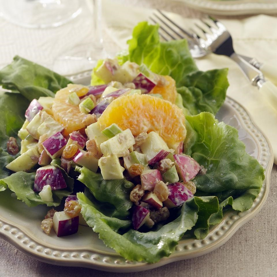 Curried Waldorf Salad