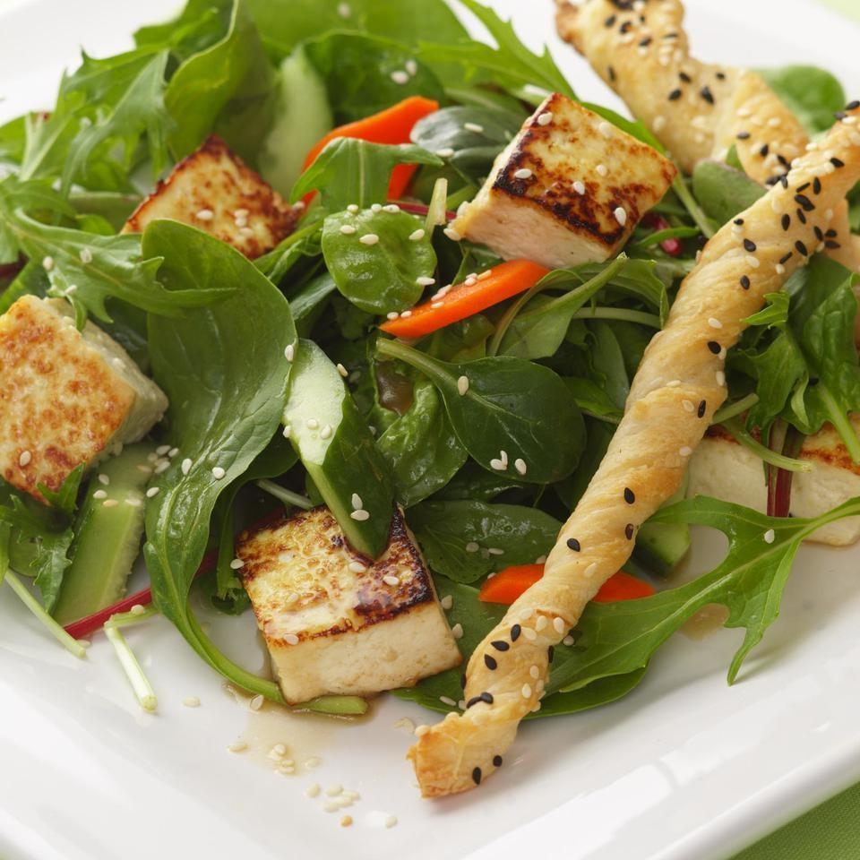 Asian Green Salad Recipe