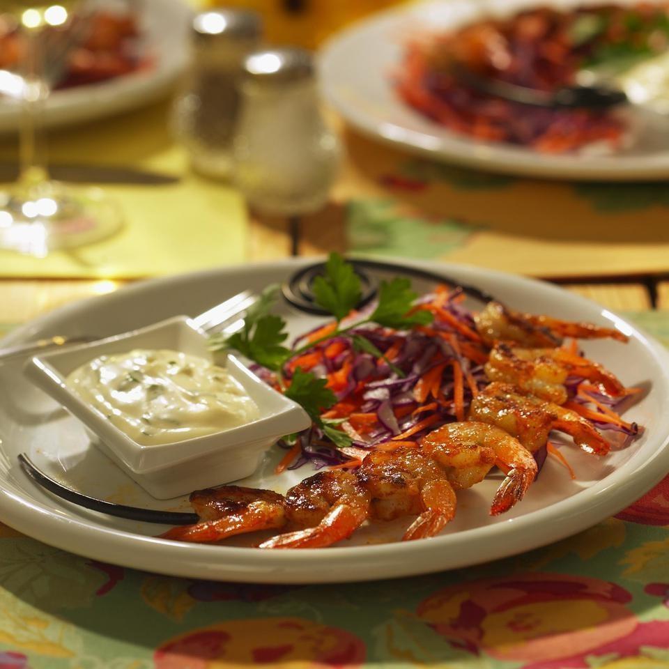 Grilled Shrimp Remoulade
