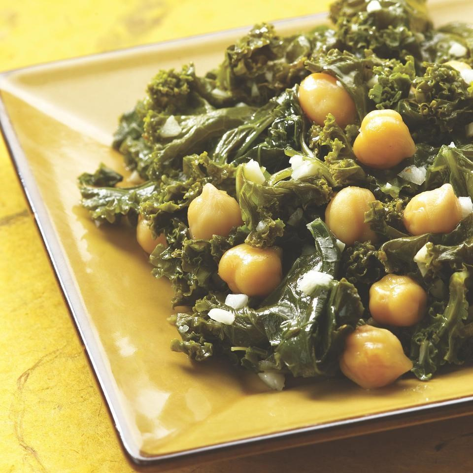 Indian spiced kale chickpeas recipe eatingwell indian spiced kale chickpeas forumfinder Images