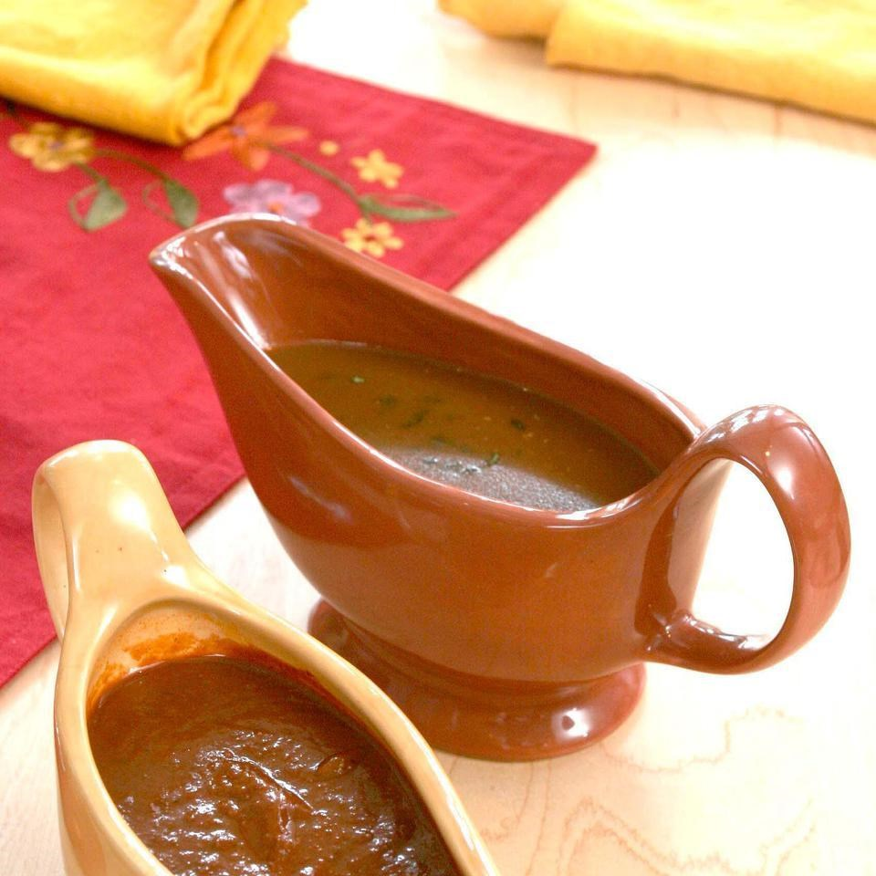 Tequila-Spiked Pan Gravy