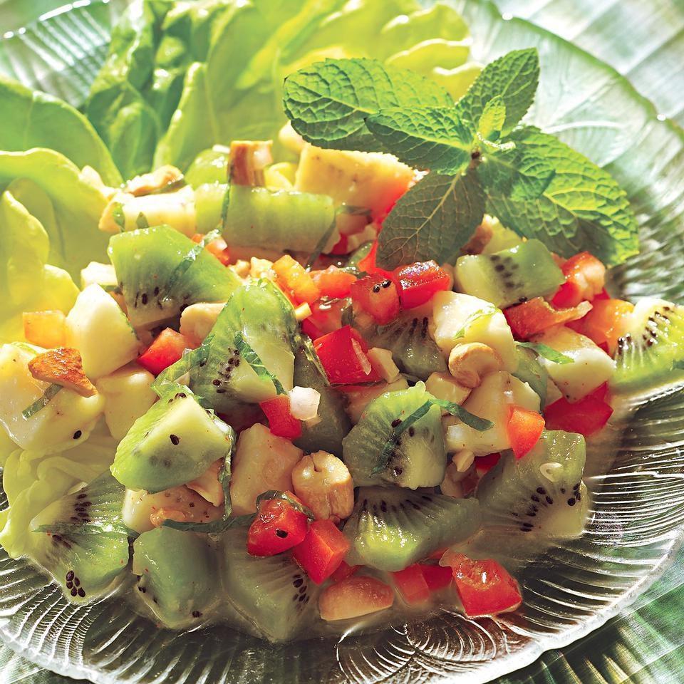 Banana-Kiwi Salad Recipe - EatingWell