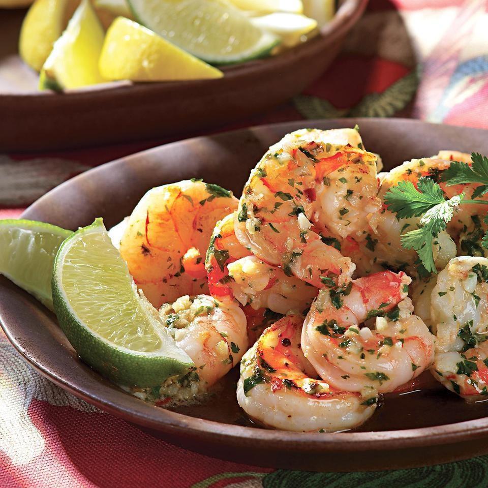 Shrimp Paulista, Flat-Belly Salad