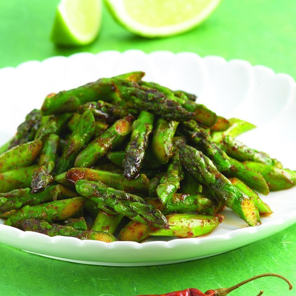 Chile-Spiced Asparagus