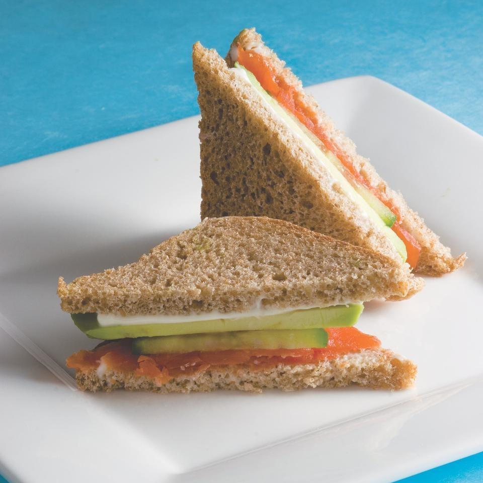 Avocado Tea Sandwiches