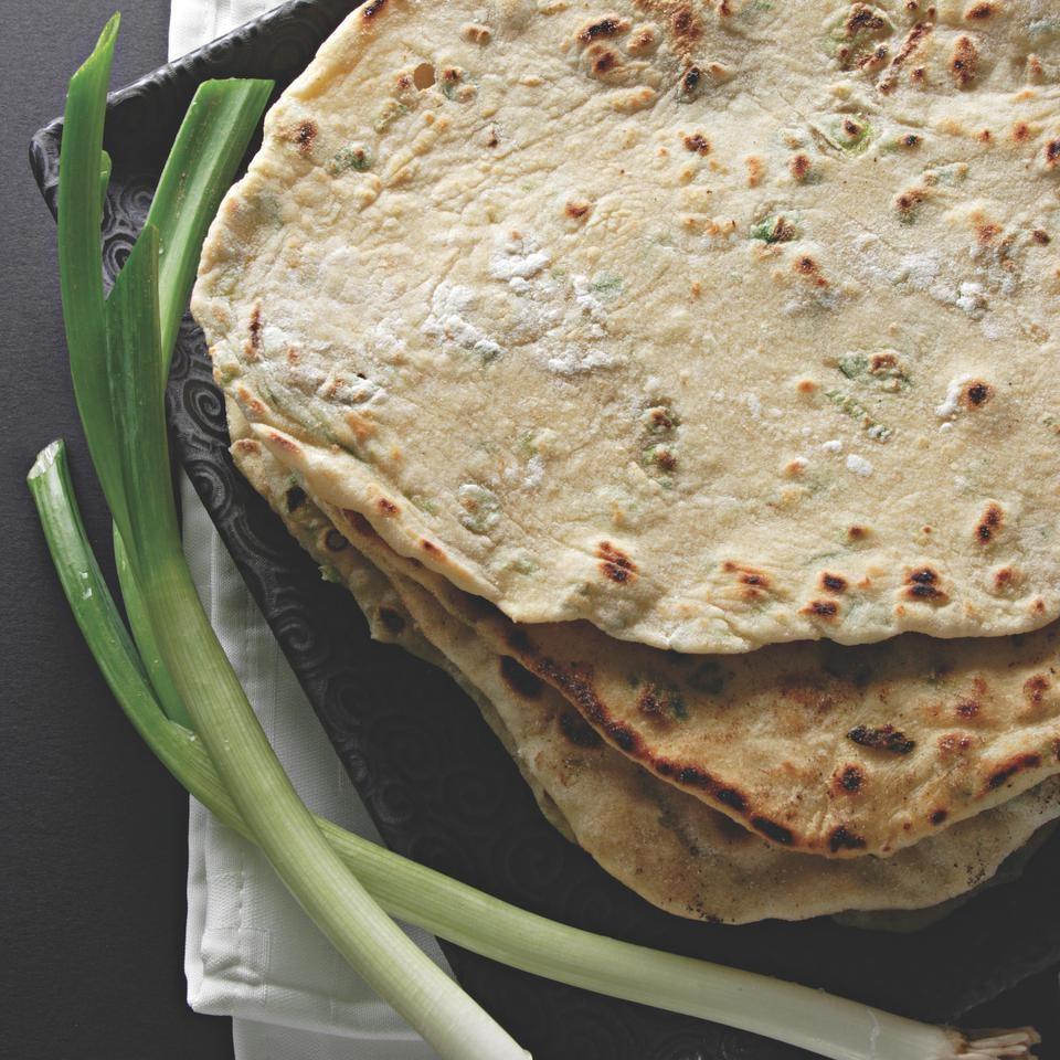 Scallion Flat Breads