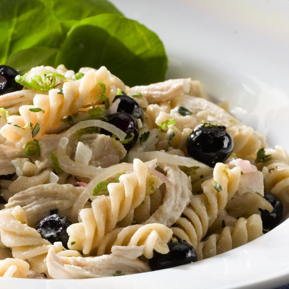 Chicken Amp Blueberry Pasta Salad Recipe Eatingwell