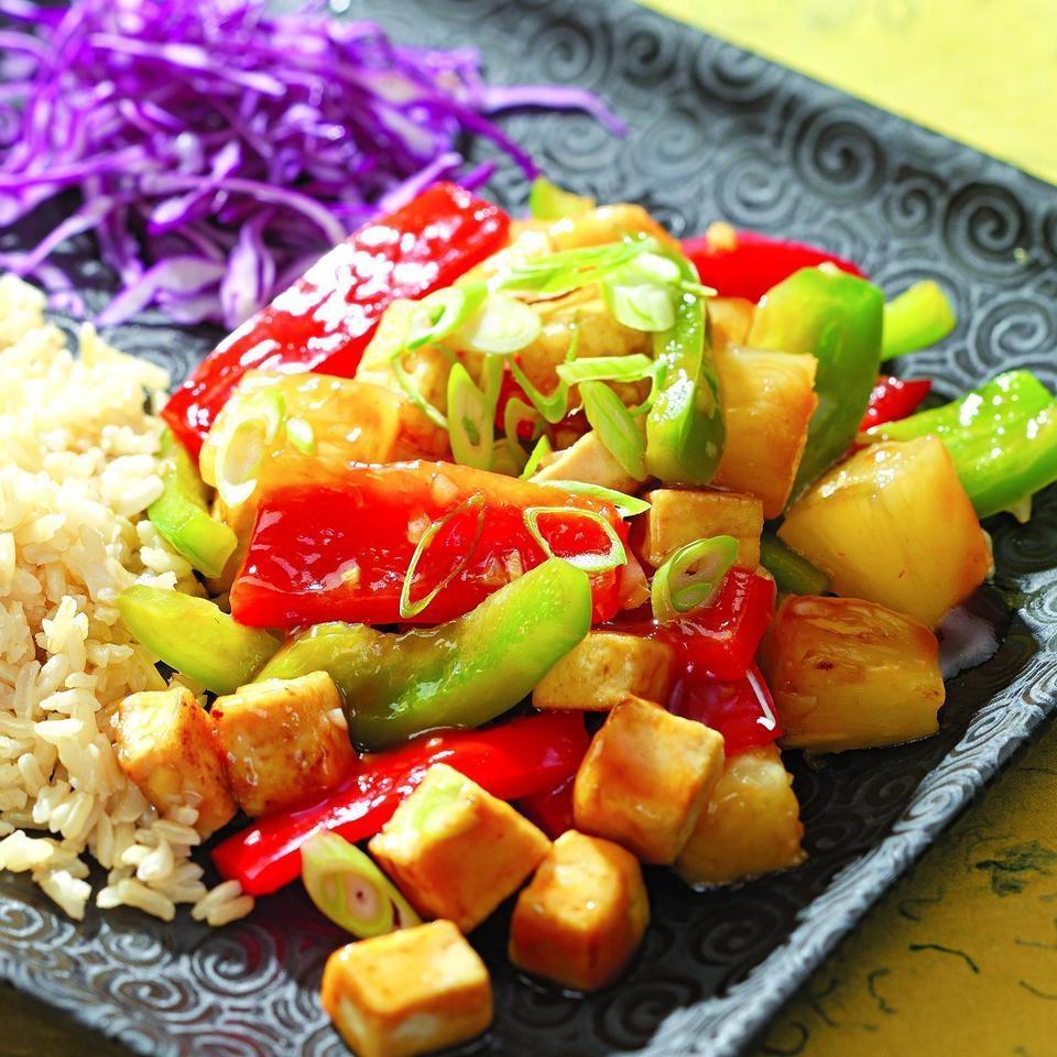 Pineapple Tofu Stir-Fry