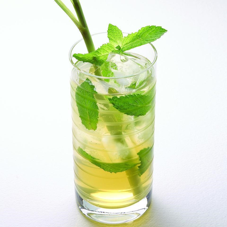 Iced Mint Green Tea Recipe Eatingwell