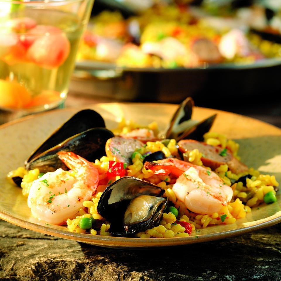 Summer Paella Recipe Eatingwell