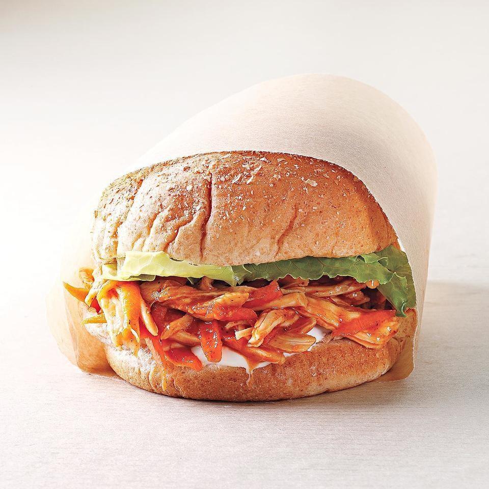 Bbq Chicken Sandwich Recipe Eatingwell