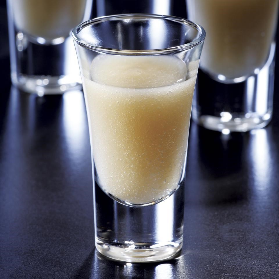 Pear-Ginger Shooters